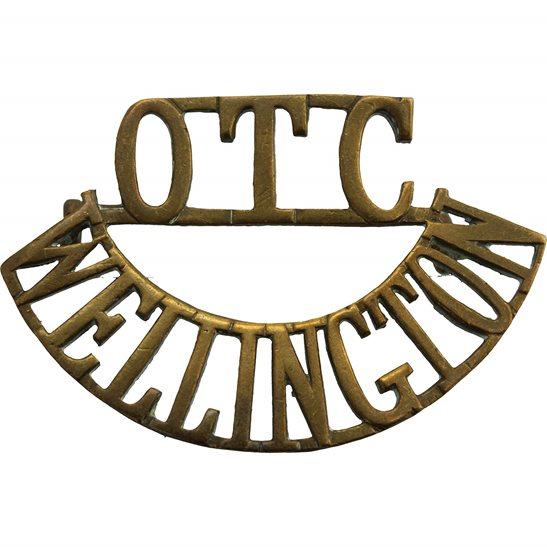 Officer Training Corps OTC Wellington College OTC Officers Training Corps Shoulder Title
