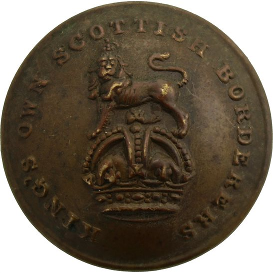 Kings Own Scottish Borderers Kings Own Scottish Borderers KOSB King's Regiment Tunic Button - 26mm