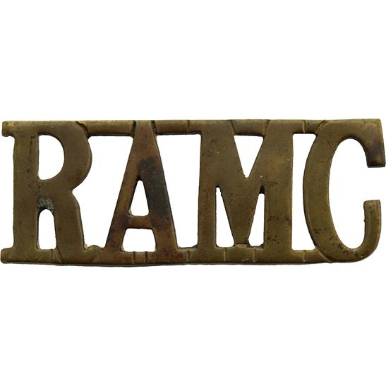 Royal Army Medical Corps RAMC Royal Army Medical Corps RAMC Shoulder Title