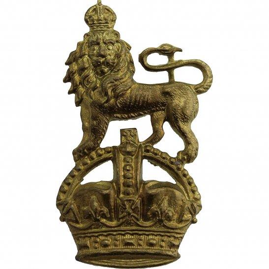 Royal West Kent Queens Own Royal West Kent RWK Regiment Collar Badge