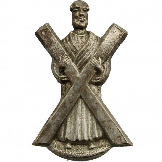 Black Watch Royal Highland (Black Watch) Scottish Regiment Collar Badge
