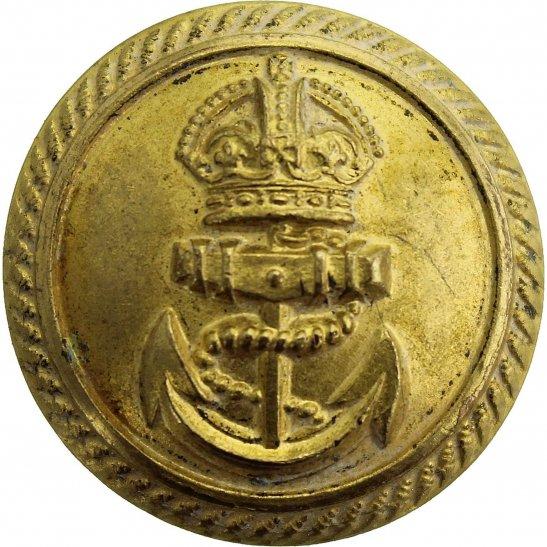 Royal Navy Royal Navy British Anchor Naval Tunic Button - 24mm