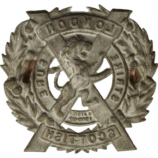 additional image for 14th Battalion, The London Scottish Regiment Cap Badge