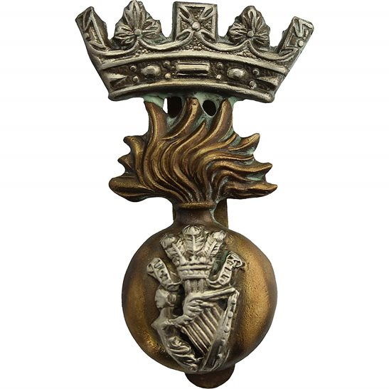 Royal Irish Fusiliers WW1 Royal Irish Fusiliers RIF Regiment Cap Badge