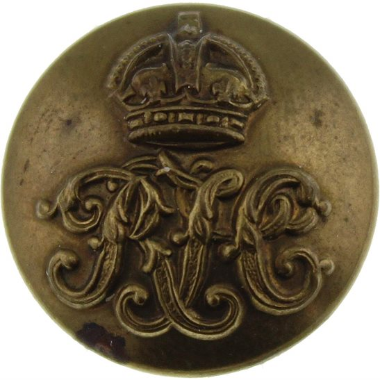 Royal Tank Corps WW1 Royal Tank Corps RTC SMALL Tunic Button - 19mm