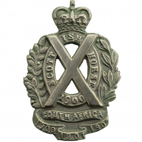 Scottish Horse Scottish Horse Yeomanry Regiment Cap Badge