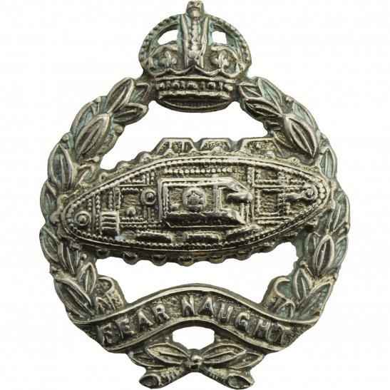 Royal Tank Regiment WW2 Royal Tank Regiment Corps Collar Badge