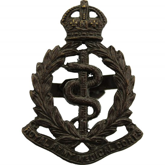 Royal Army Medical Corps RAMC Royal Army Medical Corps RAMC OFFICERS Bronze Cap Badge