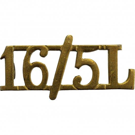 16th / 5th Lancers 16th / 5th The Queen's Royal Lancers Regiment Shoulder Title