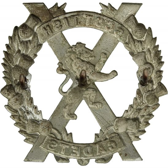 additional image for Scottish Cadets Officers Training Corps School College OTC Cap Badge