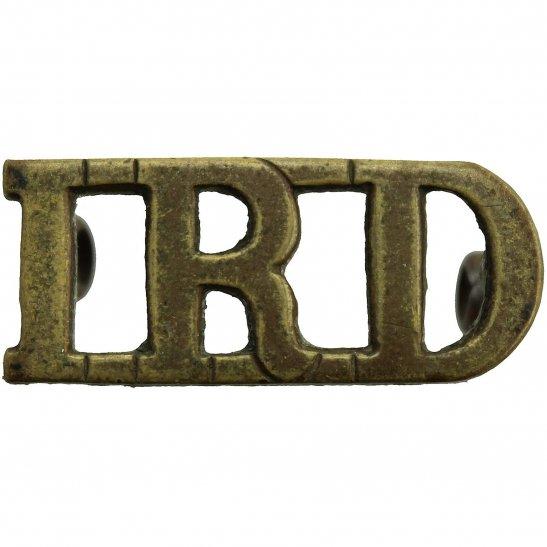 1st Royal Dragoons 1st Royal Dragoons Regiment The Royals Shoulder Title