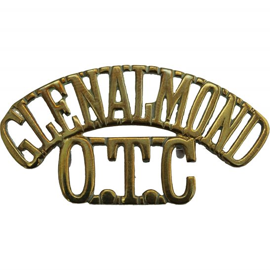 Officer Training Corps OTC Glenalmond College OTC Officers Training Corps CCF Shoulder Title