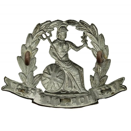 additional image for EDWARDIAN / VICTORIAN Norfolk Regiment Cap Badge - LUGS VERSION