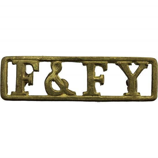 Fife and Forfar Yeomanry Fife & Forfar Yeomanry Regiment Scottish Shoulder Title