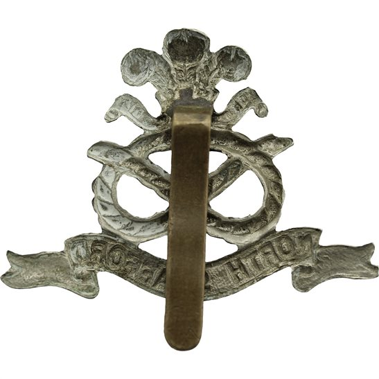 additional image for WW1 North Staffordshire (Stafford) Regiment Cap Badge
