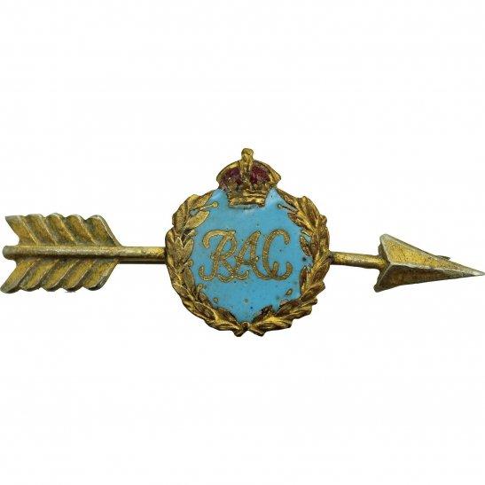 Royal Armoured Corps WW2 Royal Armoured Corps Sweetheart Brooch Enamel Badge