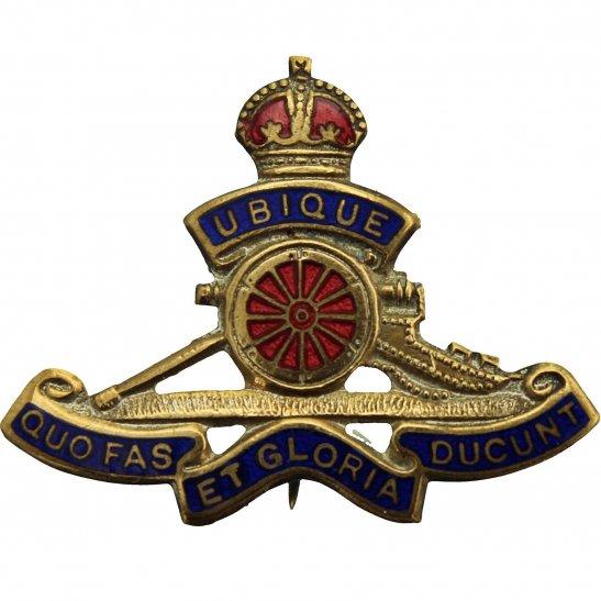 Royal Artillery Royal Artillery Regiment Sweetheart Brooch