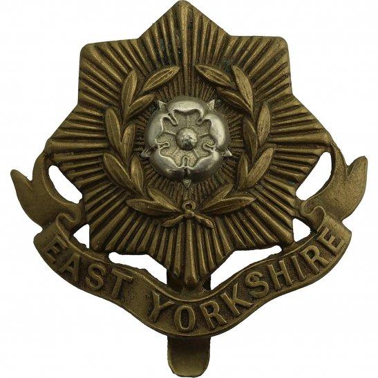 East Yorkshire WW1 East Yorkshire Regiment Cap Badge