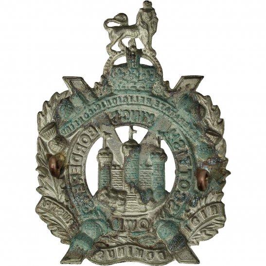 additional image for WW2 Kings Own Scottish Borderers Regiment KOSB (King's) Cap Badge