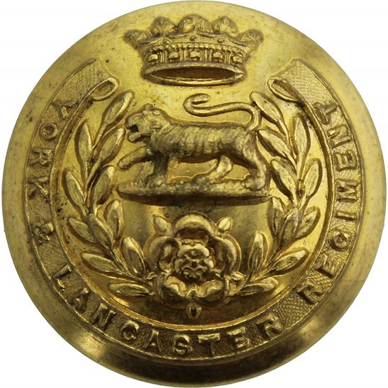 York and Lancaster York and Lancaster Regiment Tunic Button - 26mm
