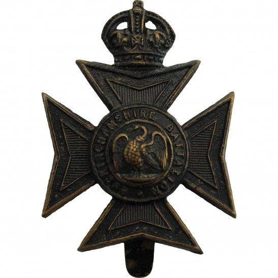 Buckinghamshire Battalion Oxfordshire & Buckinghamshire Light Infantry Regiment TERRITORIAL BATTALION Cap Badge
