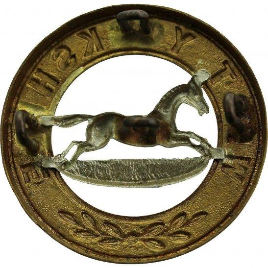 additional image for VICTORIAN / EDWARDIAN West Yorkshire Regiment Helmet Plate Centre Cap Badge