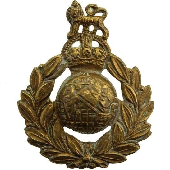 Royal Marines WW2 Royal Marines Commandos Cap Badge