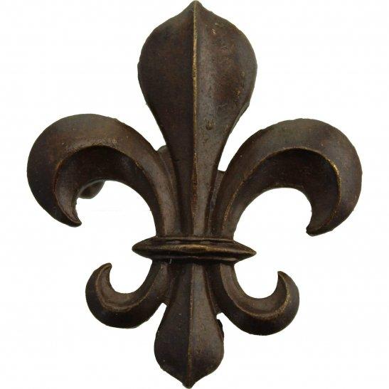 Manchester Regiment WW2 Manchester Regiment OFFICERS Bronze Collar Badge