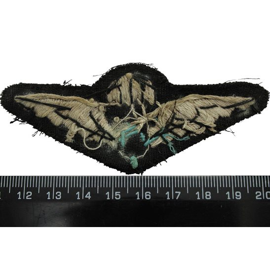 additional image for WW2 Free French (Cross of Lorraine) Parachute Regiment Paras Cloth Insignia Cap Badge