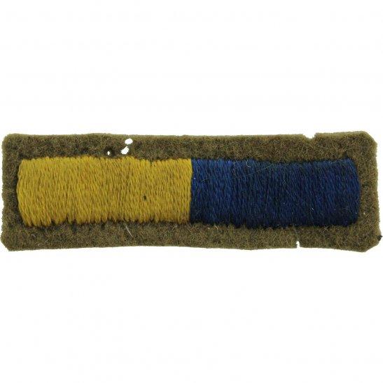 Royal Army Service Corps RASC WW2 Royal Army Service Corps RASC Cloth Arm of Service Stripes Strips