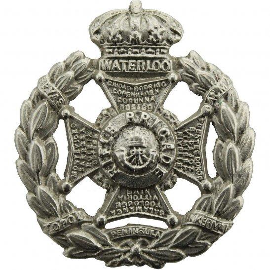 Rifle Brigade VICTORIAN The Rifle Brigade Regiment Collar Badge - Queen Victoria Crown