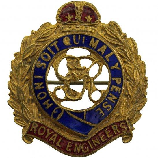 Royal Engineers WW1 Royal Engineers Corps (George V) Sweetheart Brooch