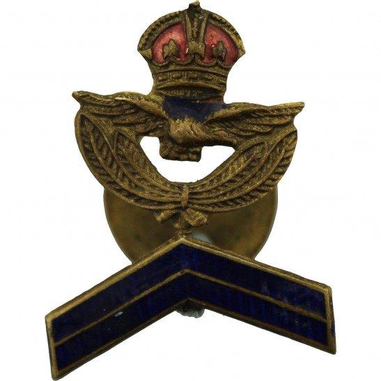 Royal Air Force RAF WW2 Royal Air Force RAF 2x Overseas Service Stripes Sweetheart Brooch