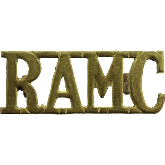 Royal Army Medical Corps RAMC WW2 Royal Army Medical Corps RAMC Shoulder Title