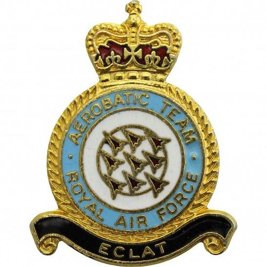RAF Squadrons Aerobatic Team Squadron Royal Air Force RAF Lapel Badge