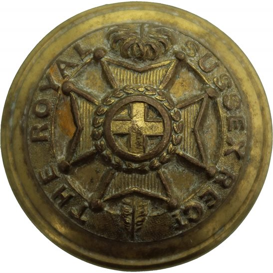 Royal Sussex Royal Sussex Regiment Tunic Button - 26mm