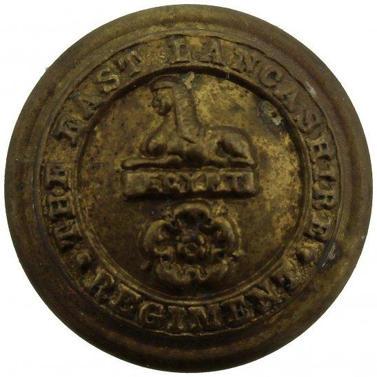 East Lancashire East Lancashire Regiment SMALL Tunic Button - 19mm