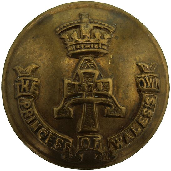 Yorkshire (Green Howards) Green Howards (Yorkshire) Regiment SMALL Tunic Button - 19mm