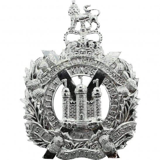 Kings Own Scottish Borderers Kings Own Scottish Borderers Regiment KOSB Staybrite Anodised Cap Badge - Staybright
