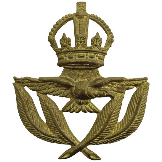 Royal Air Force RAF WW2 Royal Air Force RAF WARRANT OFFICERS Cap Badge
