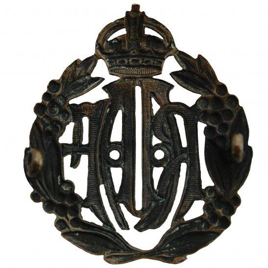 additional image for WW2 Royal Australian Air Force RAAF Australia Cap Badge