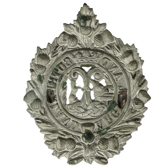 additional image for WW1 Argyll and Sutherland Highlanders Regiment Cap Badge