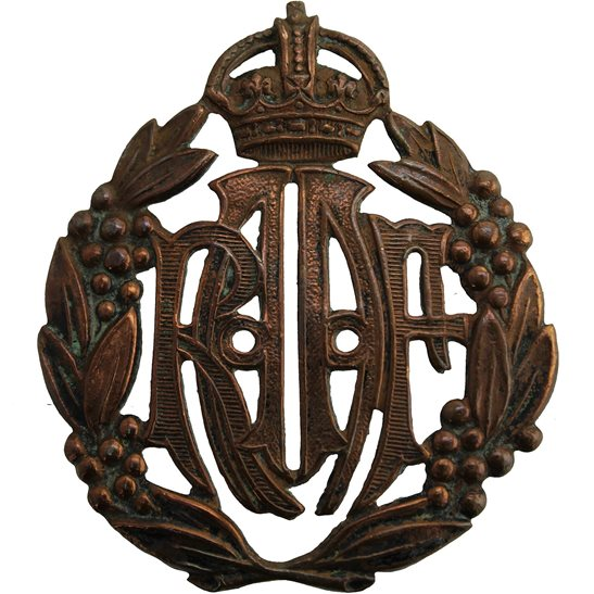 WW2 Australian Army WW2 Royal Australian Air Force RAAF Australia Cap Badge