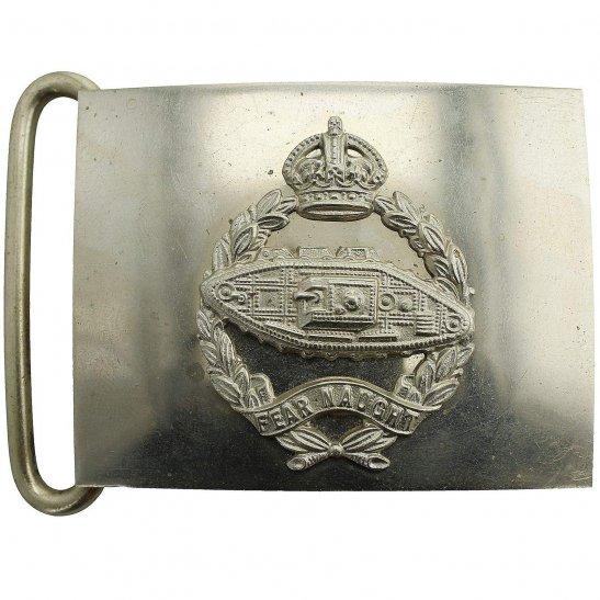Royal Tank Regiment Royal Tank Regiment Metal Belt Buckle