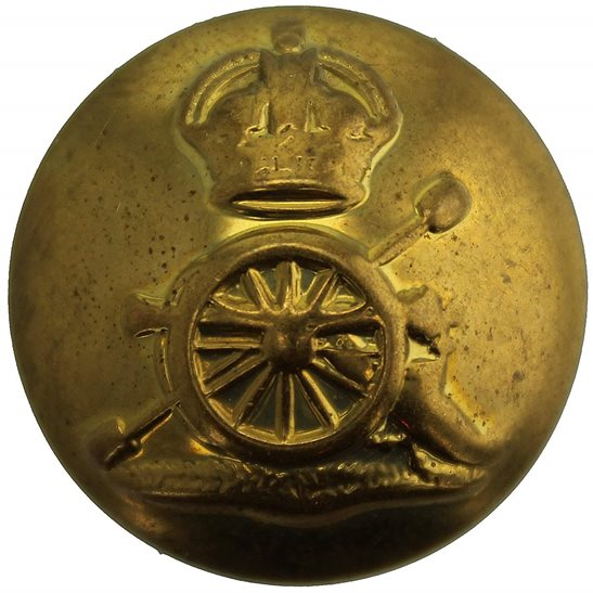 Royal Artillery WW2 Royal Artillery Regiment Tunic Button - 26mm