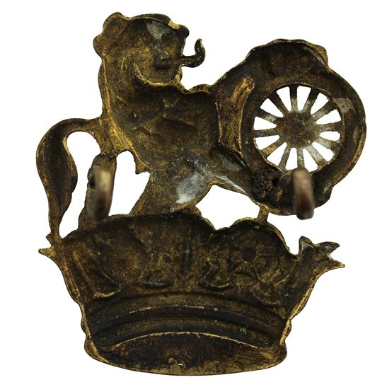 additional image for British Rail Lion and Wheel Railways Train Company Cap Badge