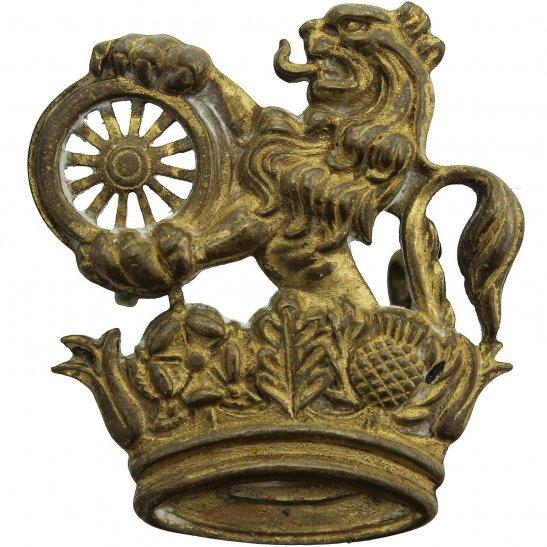 British Rail Lion and Wheel Railways Train Company Cap Badge