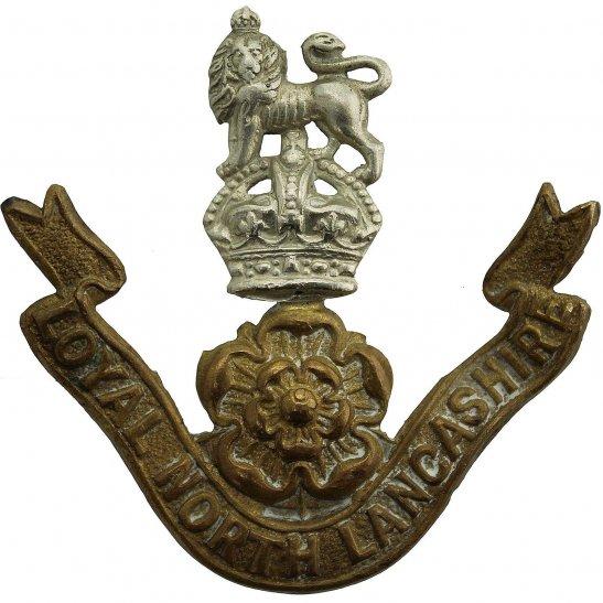 Loyal North Lancashire Loyal North Lancashire Regiment Cap Badge - EARLY LUGS VERSION