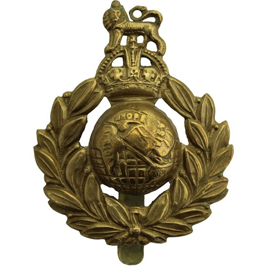 Royal Marines Royal Marines Corps Cap Badge - SLIDER VERSION