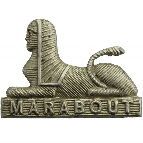 Dorset Regiment Dorsetshire (Dorset) Regiment Collar Badge